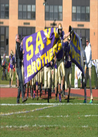 Sayville Running In.png