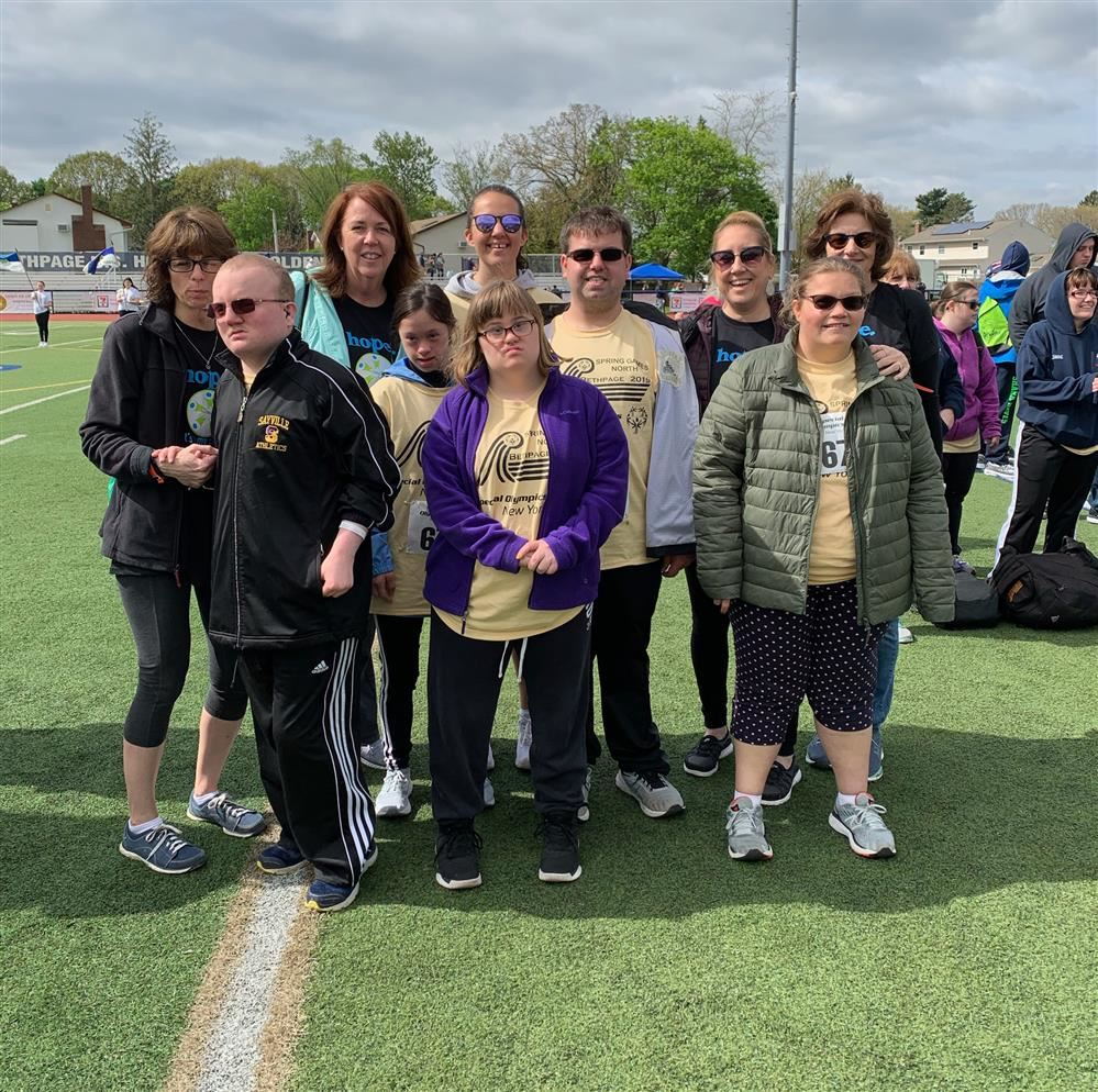 2019 Sayville Special Olympians