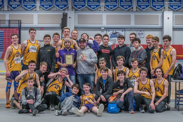 Boys Winter Track 2019 League Champs