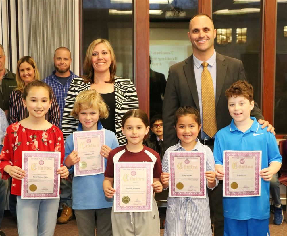 Cherry Avenue School Science Fair Winners
