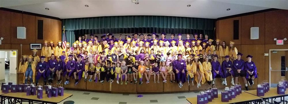 Class of 2019 at Lincoln Avenue Elementary School  photo by Debra Wortzman