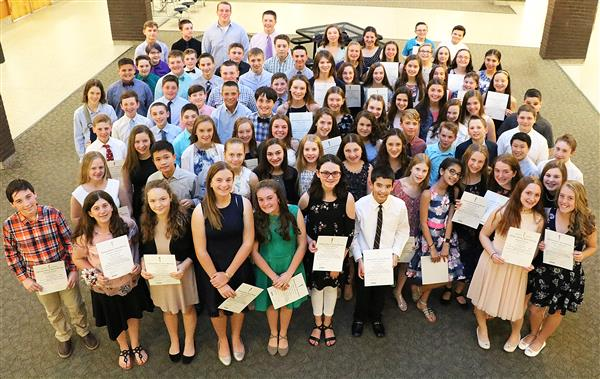 2018 National Junior Honor Society Inductees