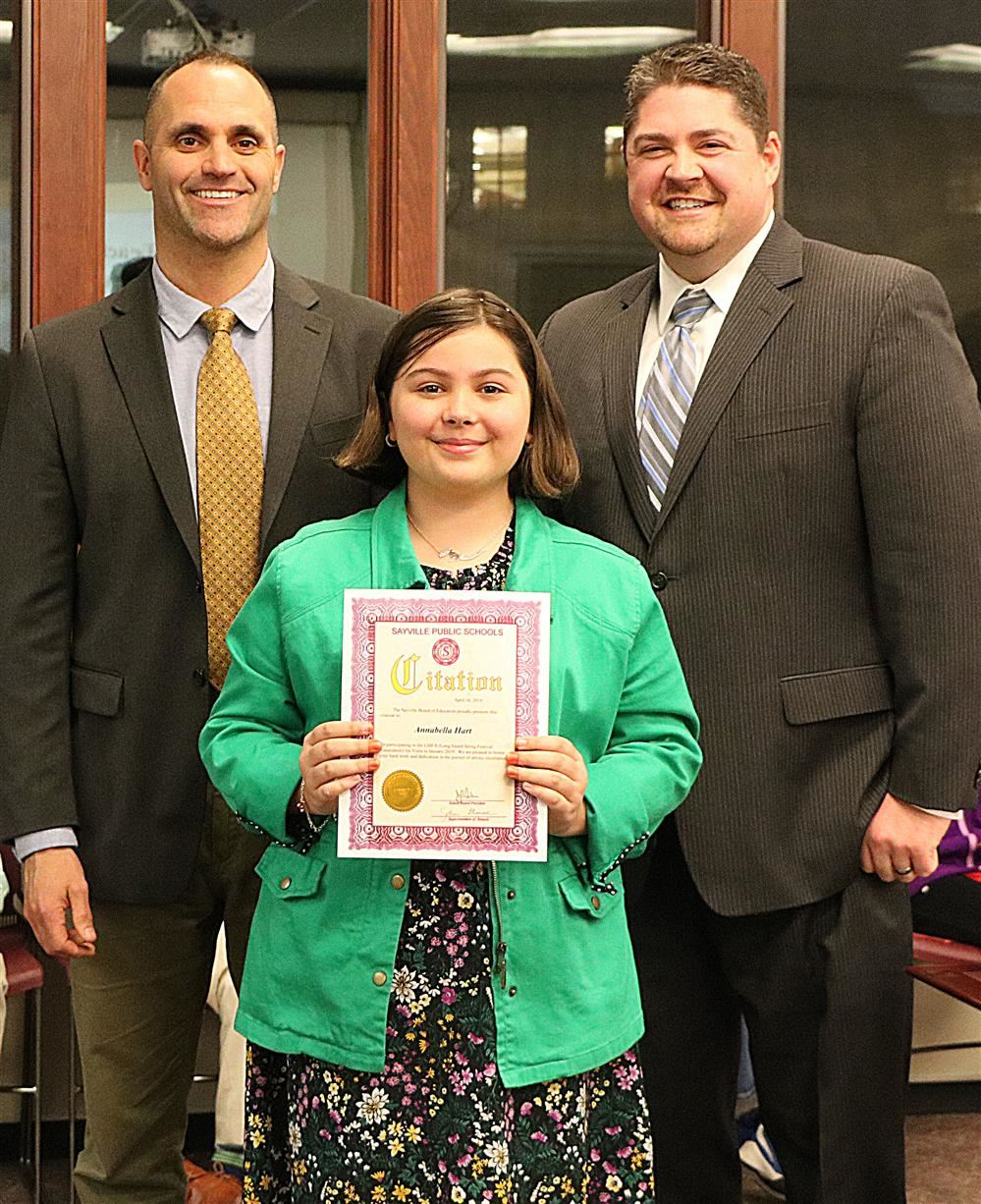Sunrise Drive Student performed on viola in LISFA