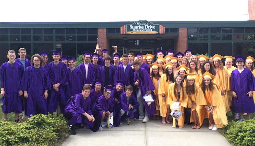 Class of 2019 at Sunrise Drive Elementary School by Walter Stepnowski