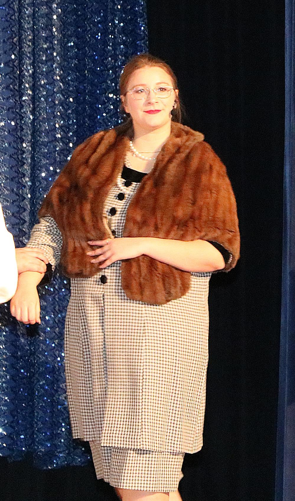 Kaitlyn Maher portrayed Mrs. Wadsworth T. Harcourt