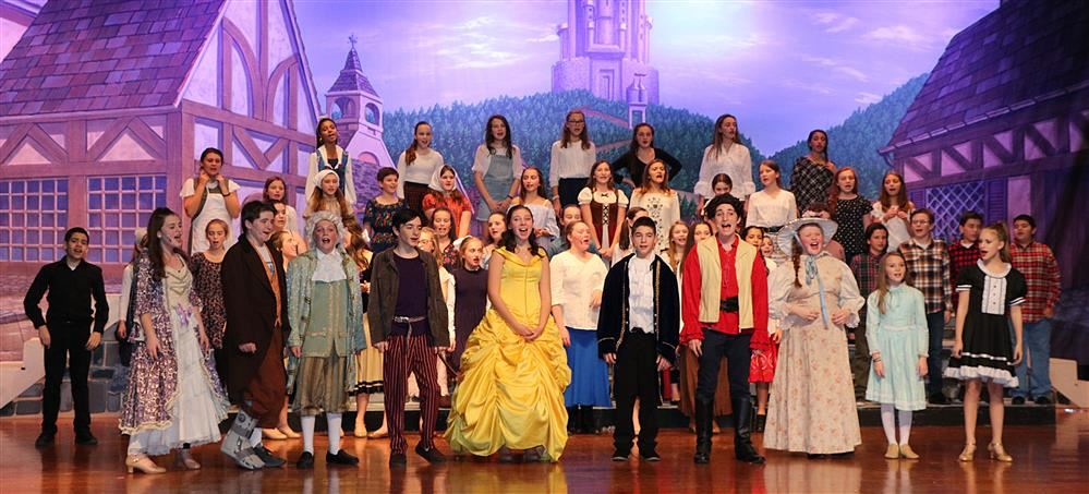 Sayville Middle School Production  Beauty and the Beast JR