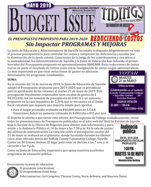 District Printed Newsletter /