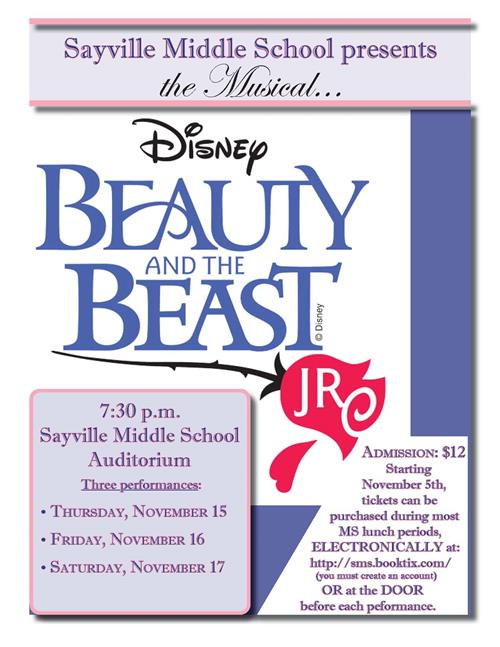 Middle School Presents Beauty & the Beast