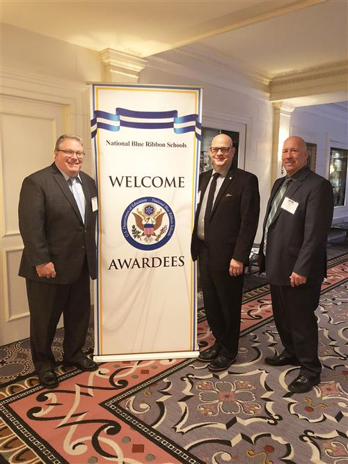 Blue Ribbon Awards Ceremony in Washington D.C.
