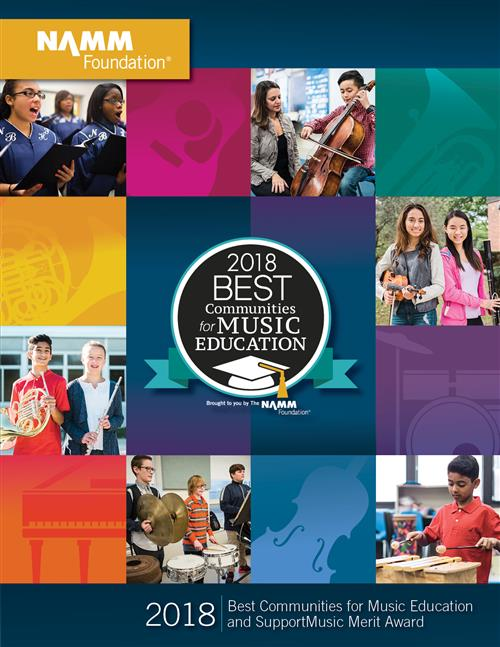 NAMM BEST MUSIC EDUCATION COMMUNITY