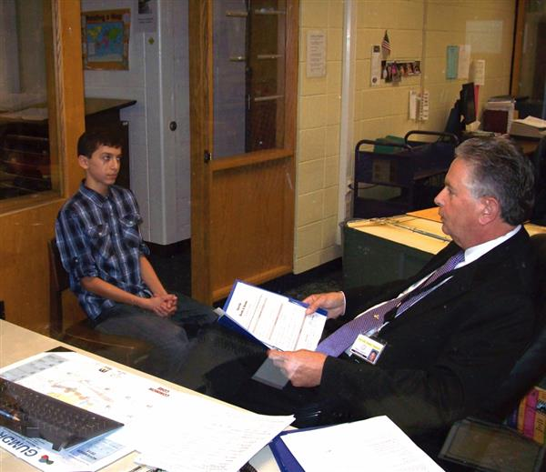 tidings online    middle school mock interviews introduce
